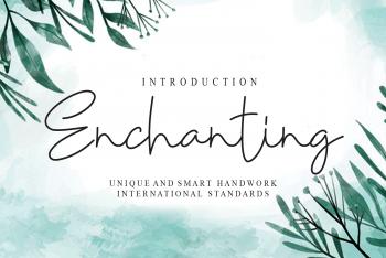 Enchanting Free Font