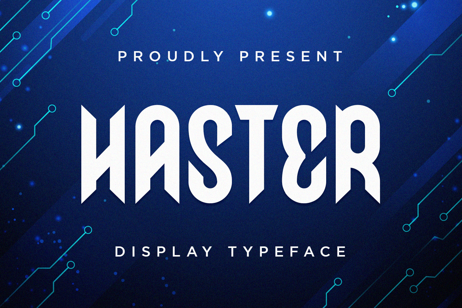 Haster Free Font