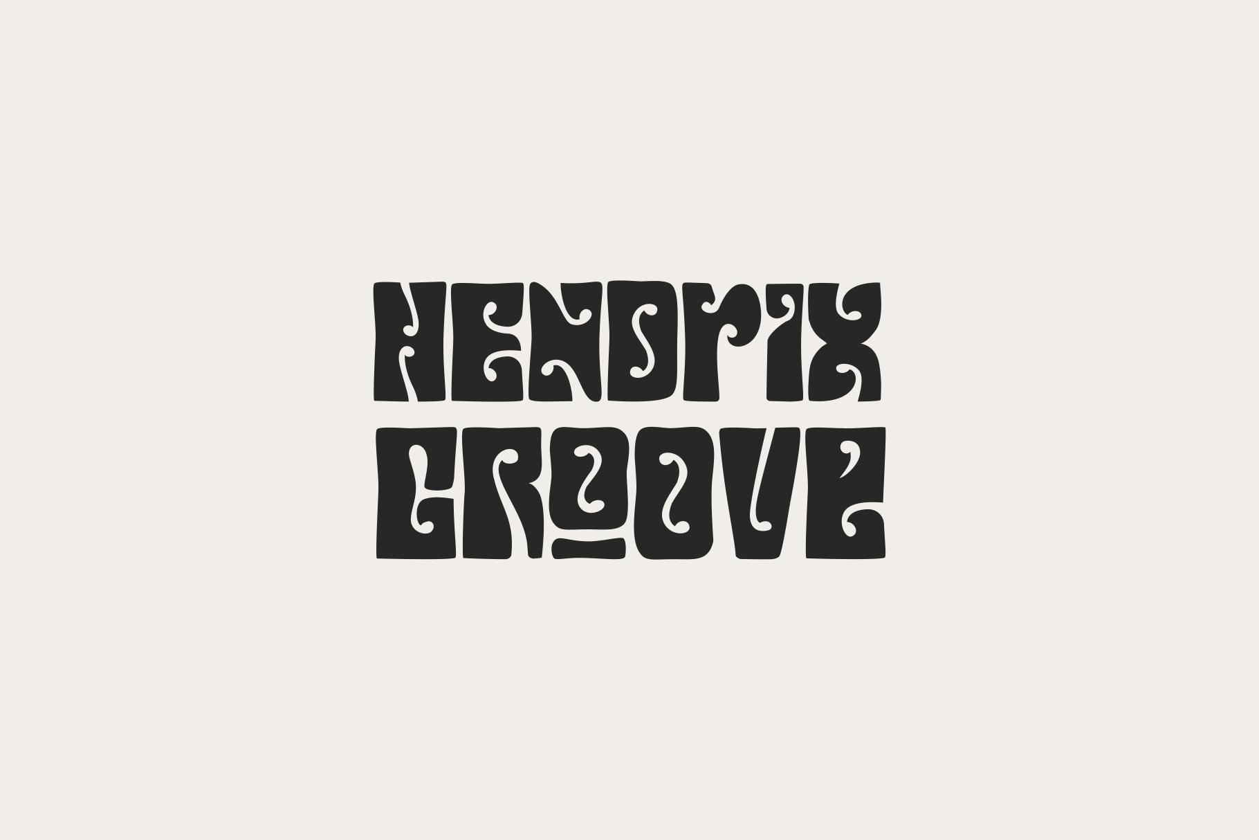 Hendrix Groove Free Font