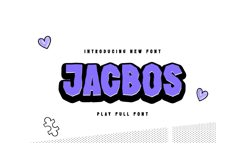 Jacbos Free Font