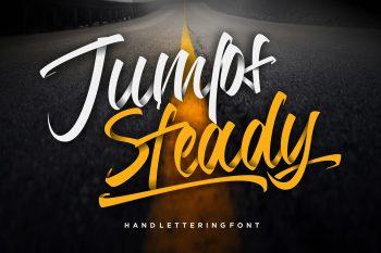 Jumps Steady Free Font