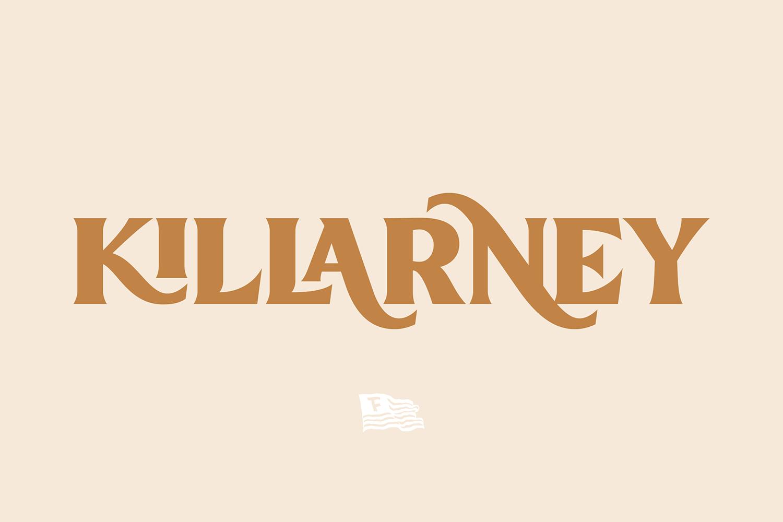 Killarney Free Font