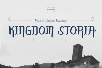 Kingdom Storia Free Font