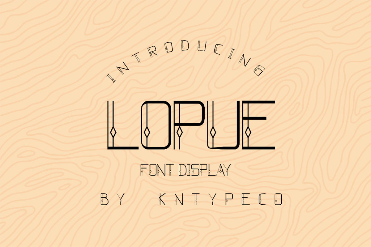 Lopue Free Font