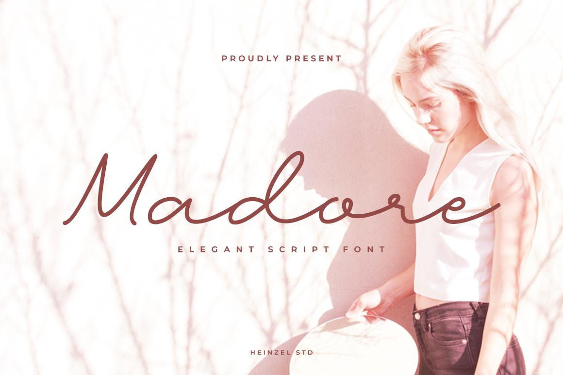 Madore Free Font