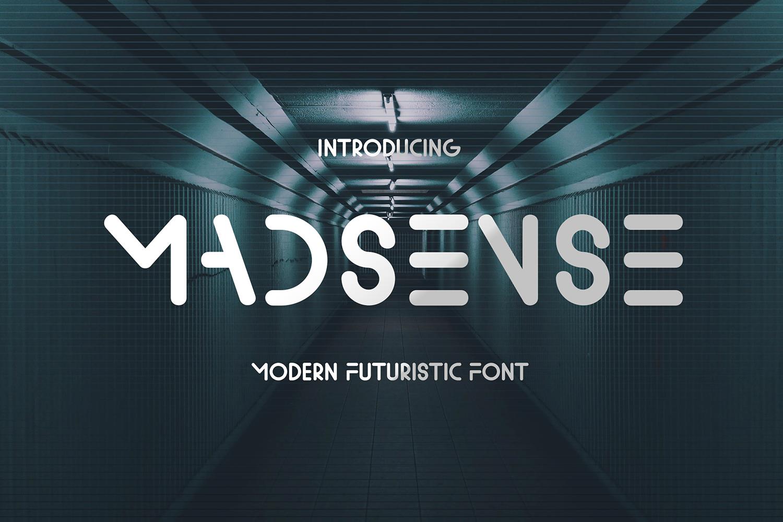 Madsense Free Font