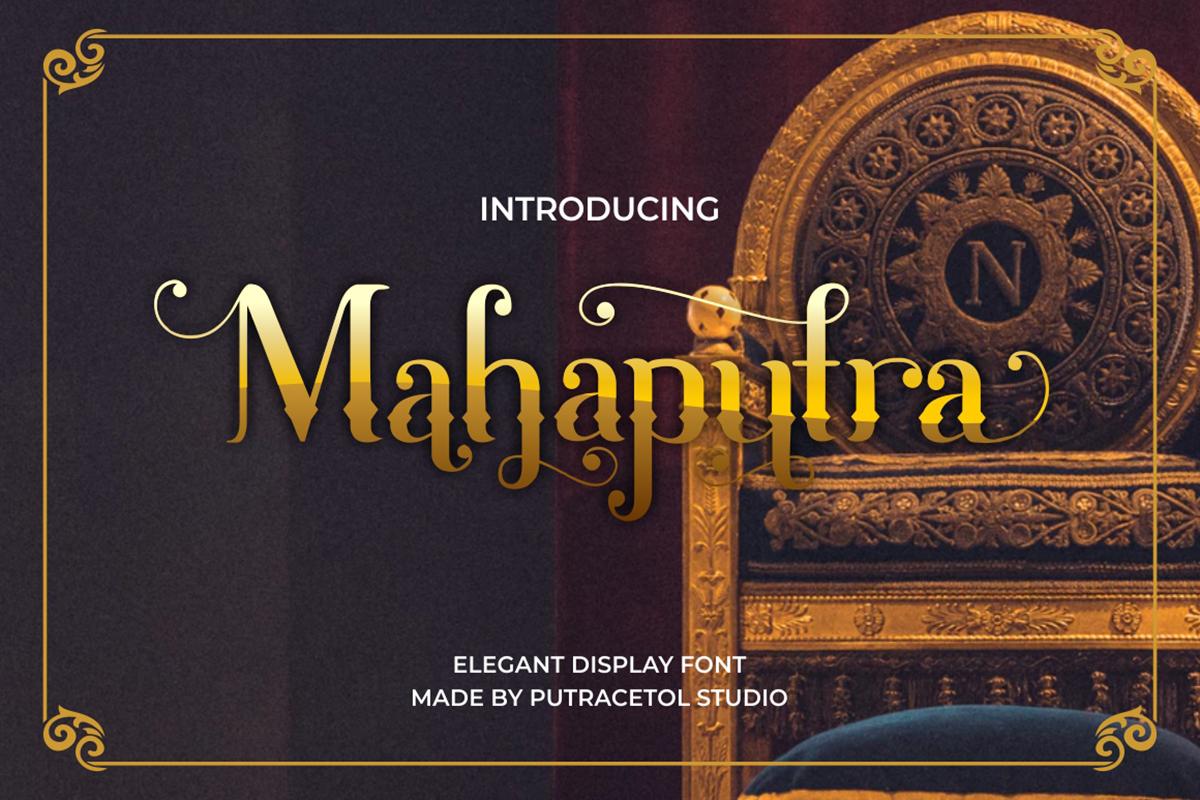 Mahaputra Free Font