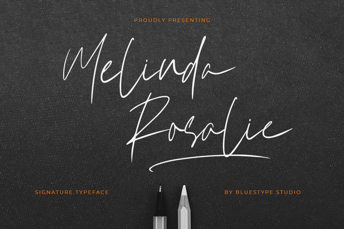 Melinda Rosalie Free Font