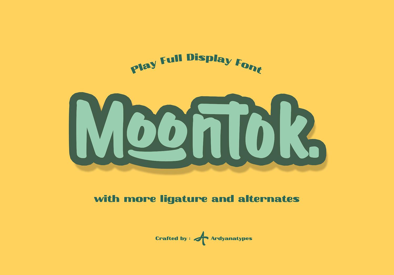 Moontok Free Font