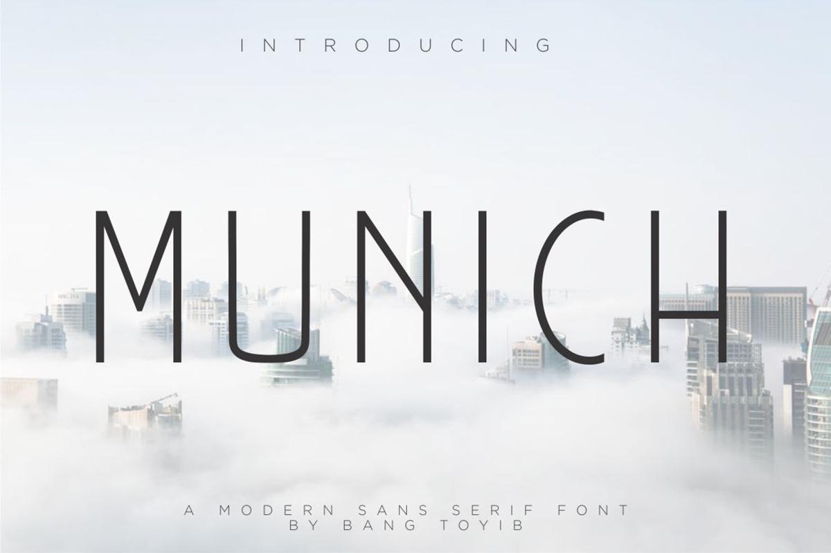 Munich Free Font