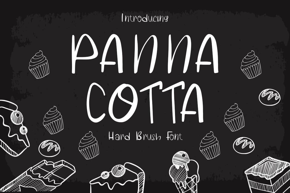Panna Cotta Free Font