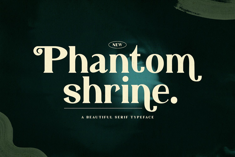Phantom Shrine Free Font