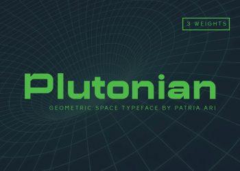 Plutonian Free Font