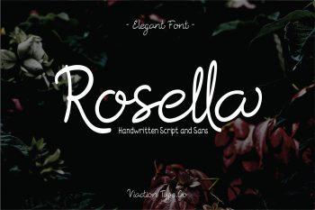 Rosella Free Font