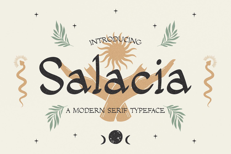 Salacia Free Font
