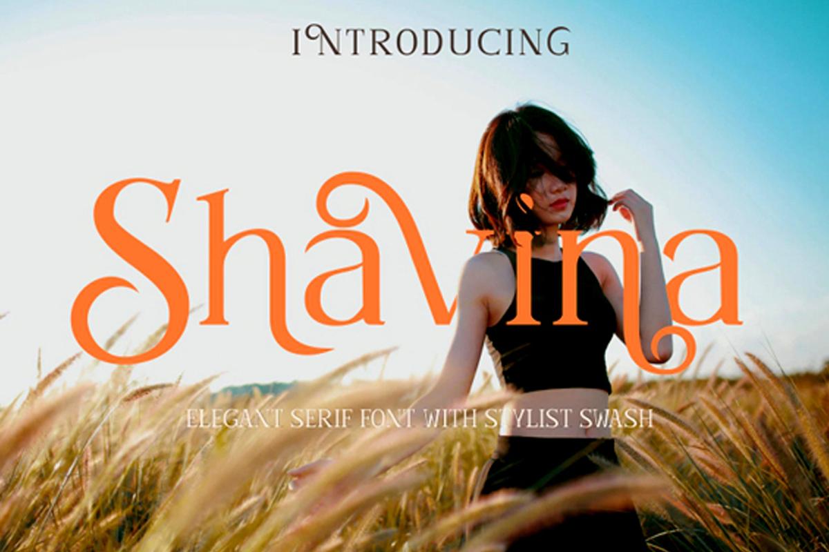 Shavina Free Font