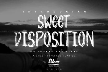 Sweet Disposition Free Font