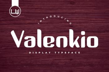 Valenkio Free Font