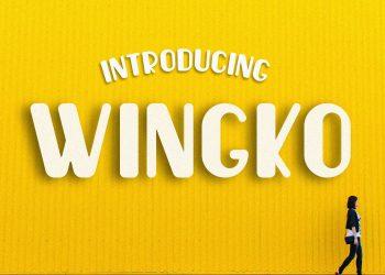 Wingko Free Font
