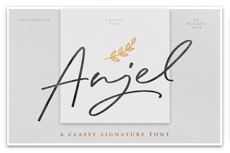 Anjel Free Font