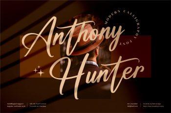 Anthony Hunter Free Font