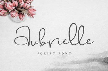 Aubrielle Free Font