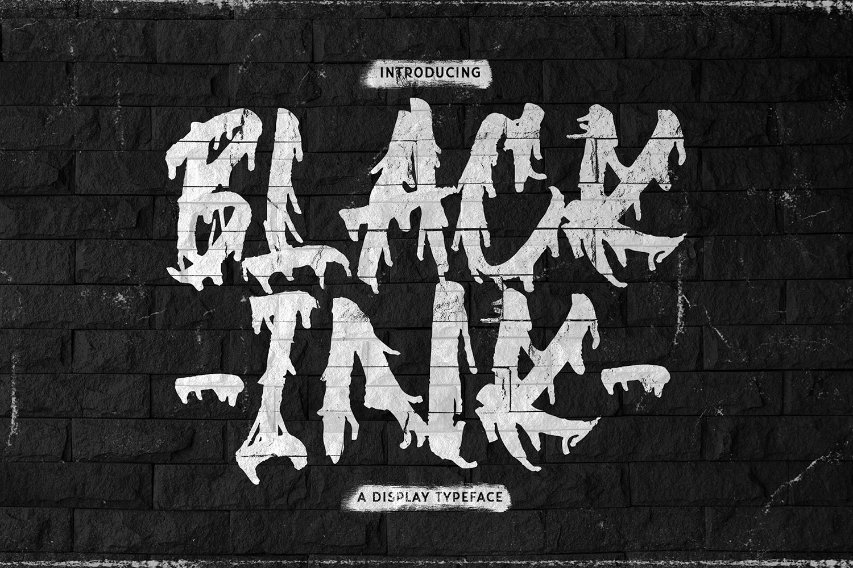 Blackink Free Font
