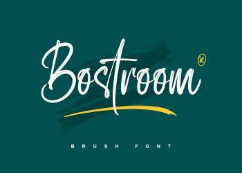 Bostroom Free Font