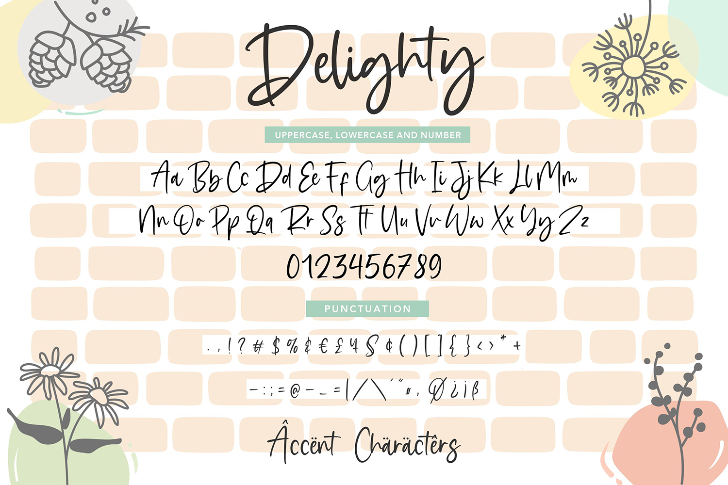 Delighty Free Font