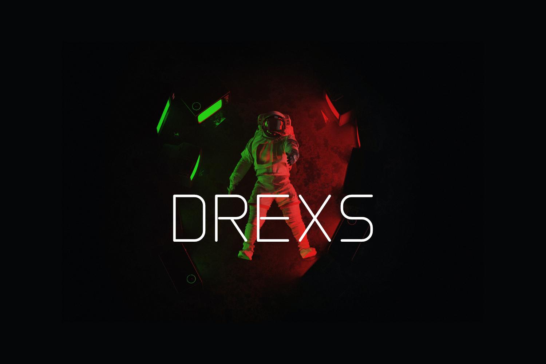Drexs Free Font