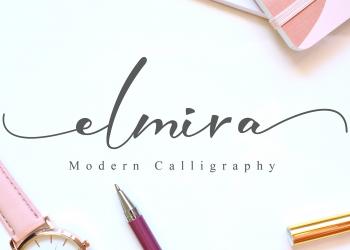 Elmira Script Free Font