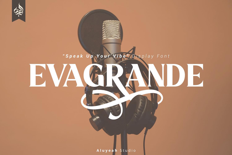 Evagrande Free Font