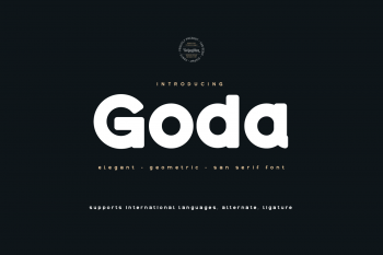 Goda Free Font