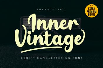 Inner Vintage Free Font