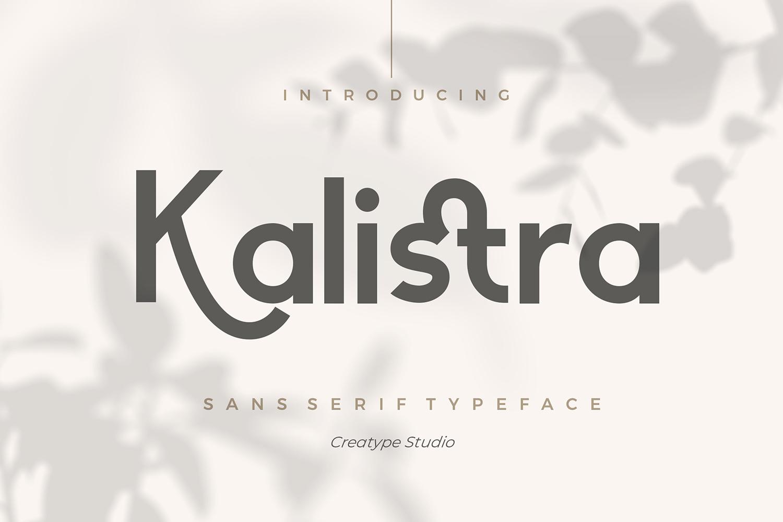 Kalistra Free Font