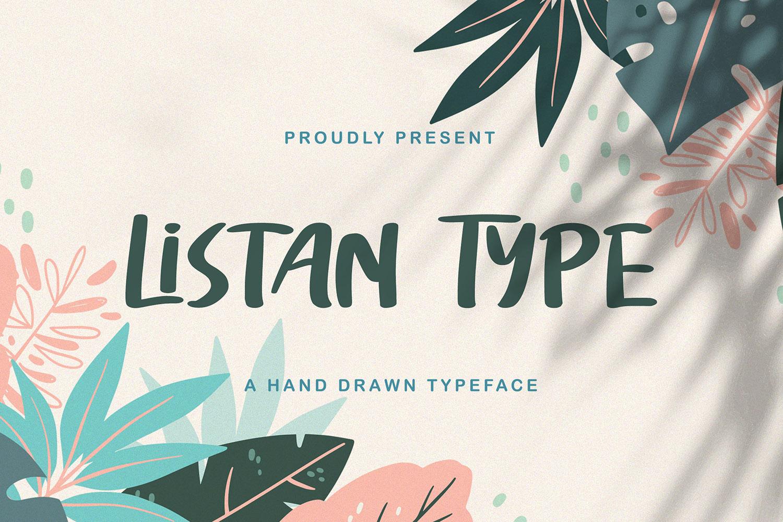 Listan Type Free Font
