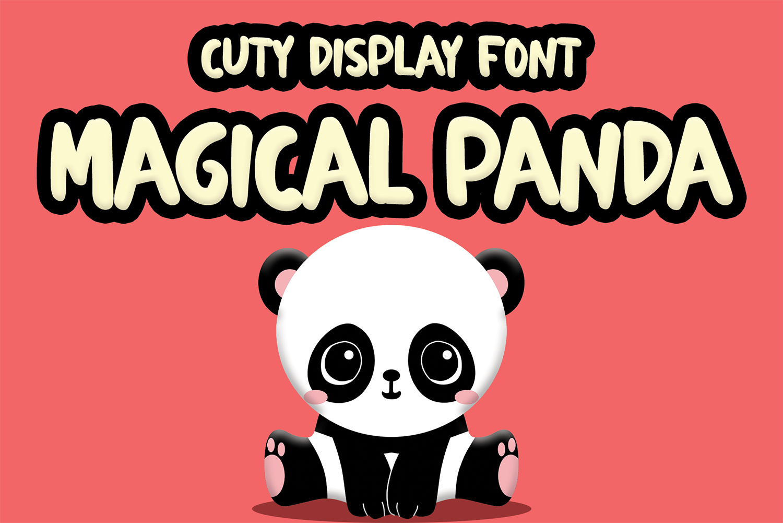 Magical Panda Free Font