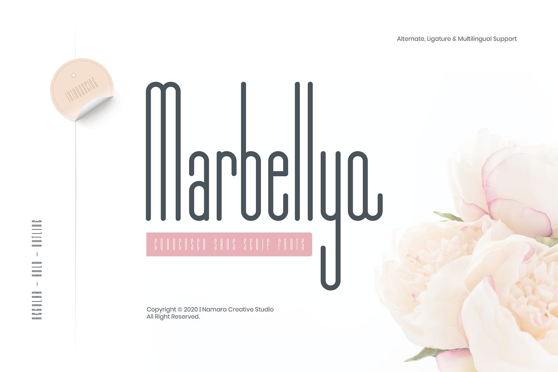 Marbellya Free Font
