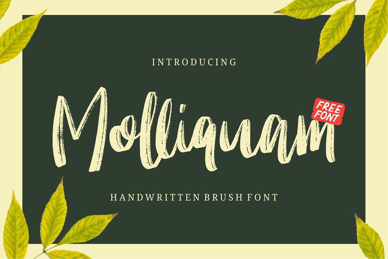 Molliquam Free Font