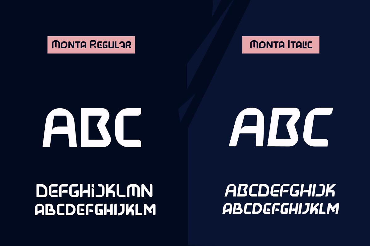 Monta Free Font