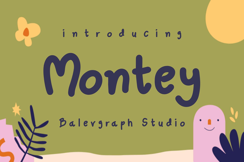 Montey Free Font