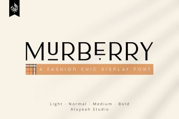Murberry Free Font