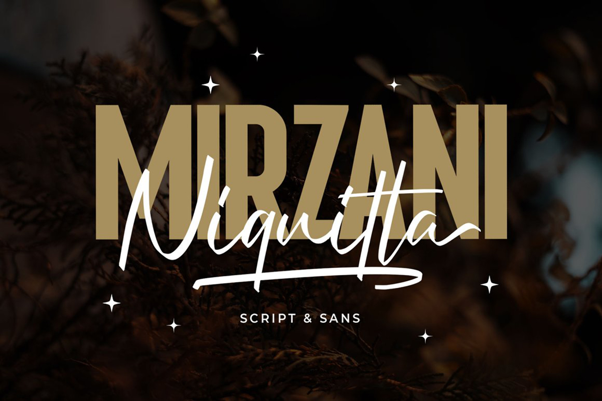 Niquitta Mirzani Free Font