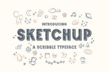 Sketchup Free Font
