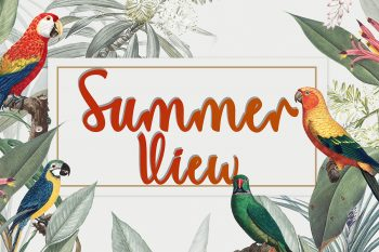 Summer View Free Font