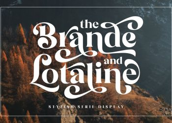 The Brande and Lotaline Free Font