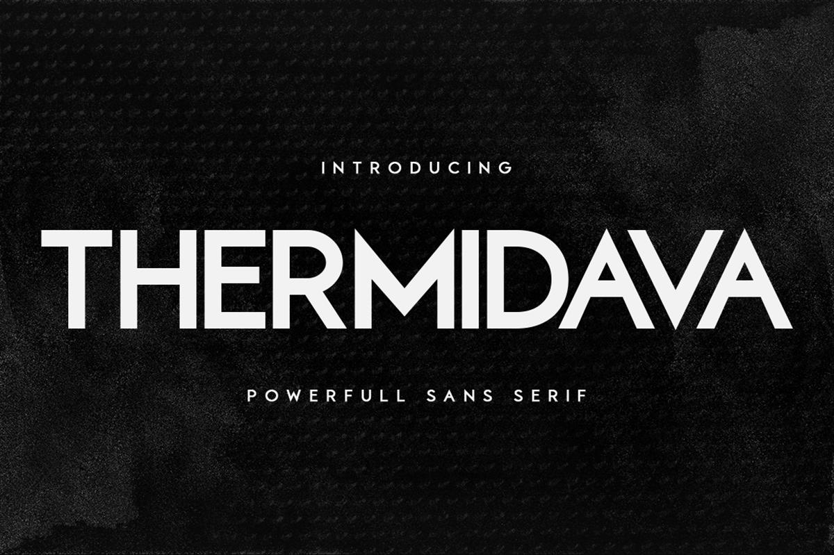 Thermindava Free Font