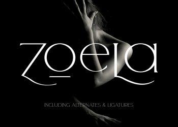 Zoela Free Font