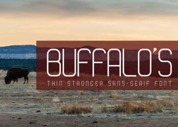 Buffalo's Free Font