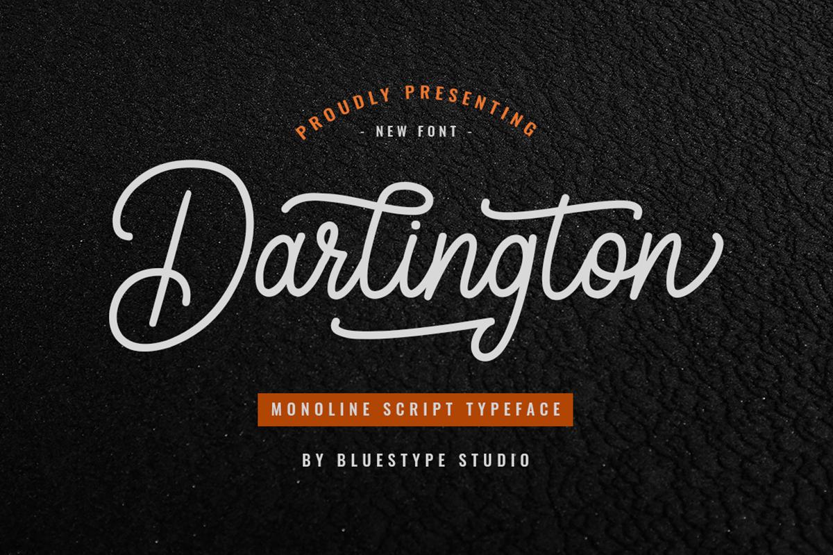 Darlington Free Font